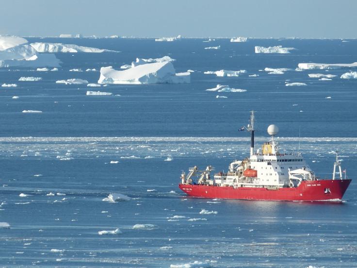 Glacier retreat ocean