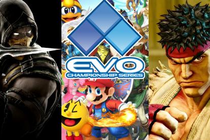 EVO 2016 Street Fighter Smash Bros MKX