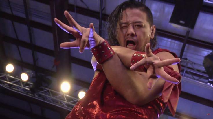 Shinsuke Nakamura WWE NXT