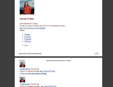 DNC hack - Sarah Palin