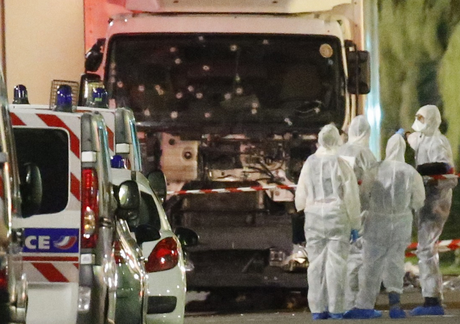 Truck in Nice attack