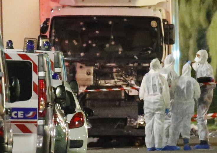 Truck in Nice attack