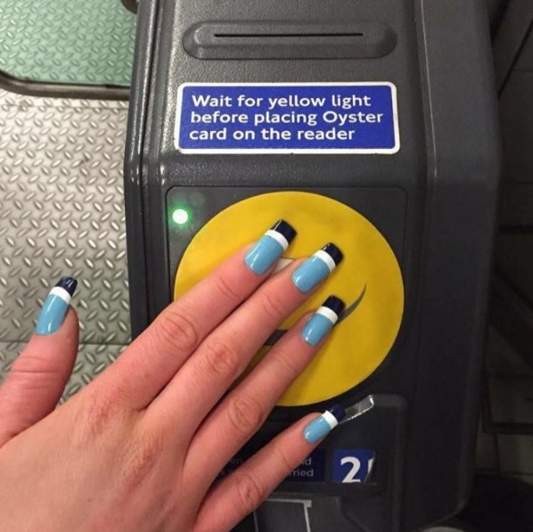 Oystercard nails