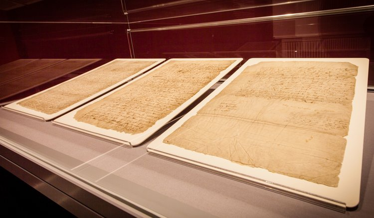 Shakespeare's will on display