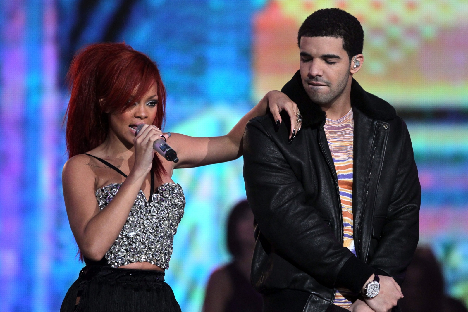 Drake and Chris Brown Called Rihanna
