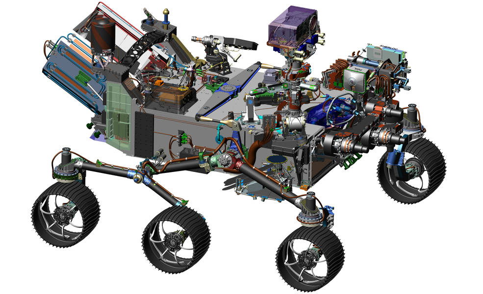 Nasa unveils new design for its Mars 2020 rover which will hunt for evidence of life