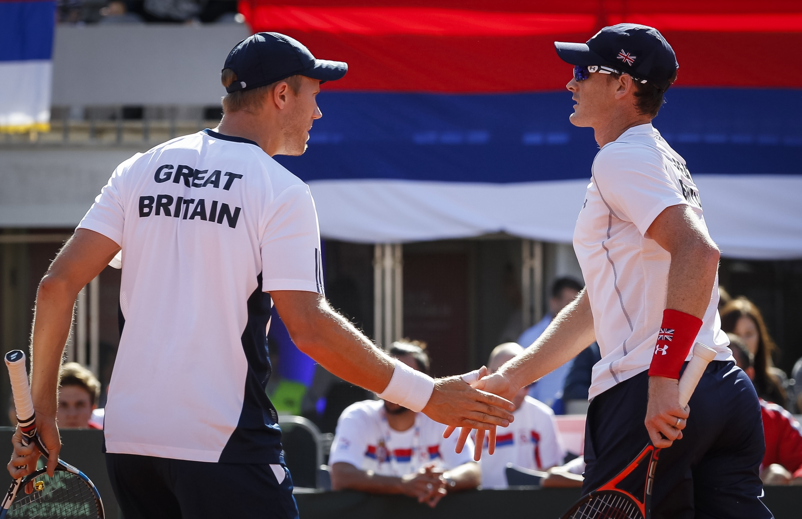 Dom Inglot and Jamie Murray