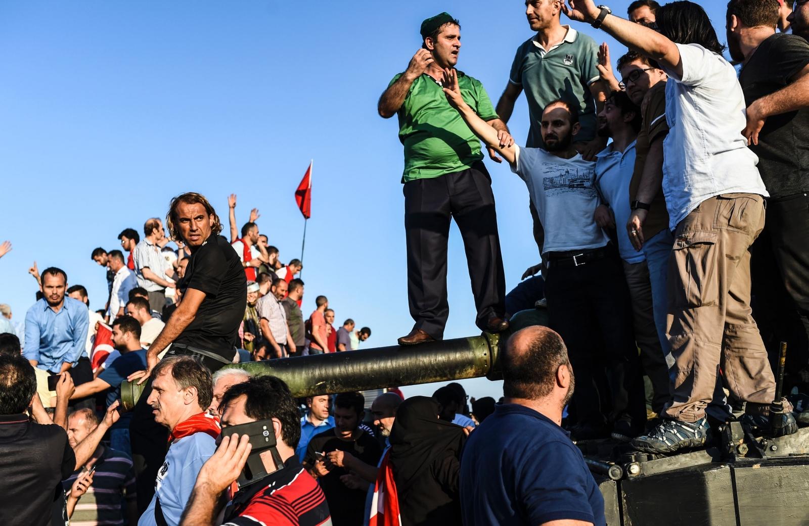 Turkey coup 2016 Erdogan Islam