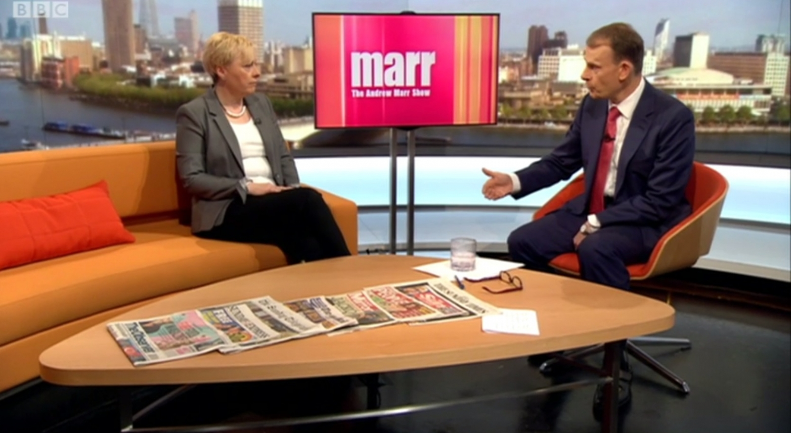 Angela Eagle Andrew Marr BBS Labour