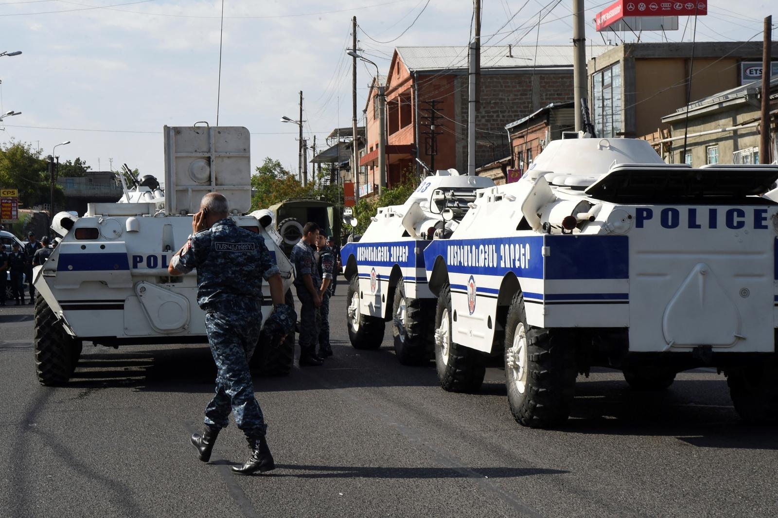 Yeravan Armenia Hostage Situation