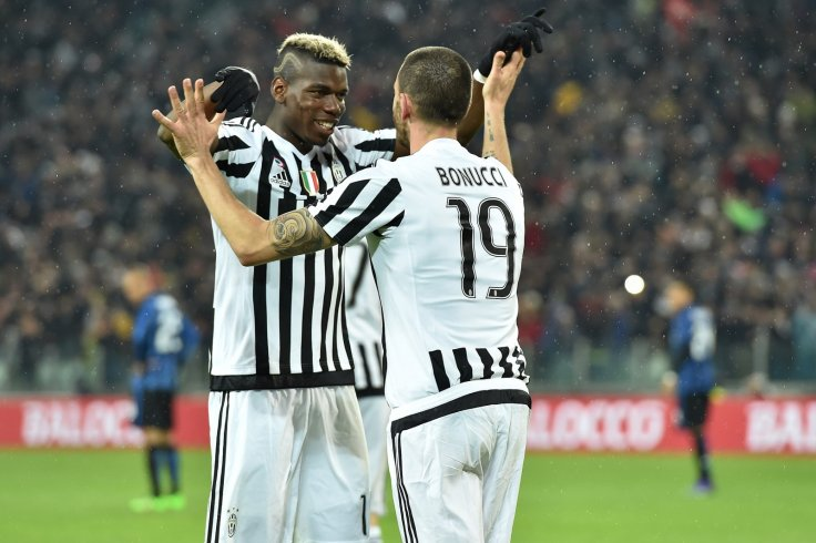 Paul Pogba and Leonardo Bonucci