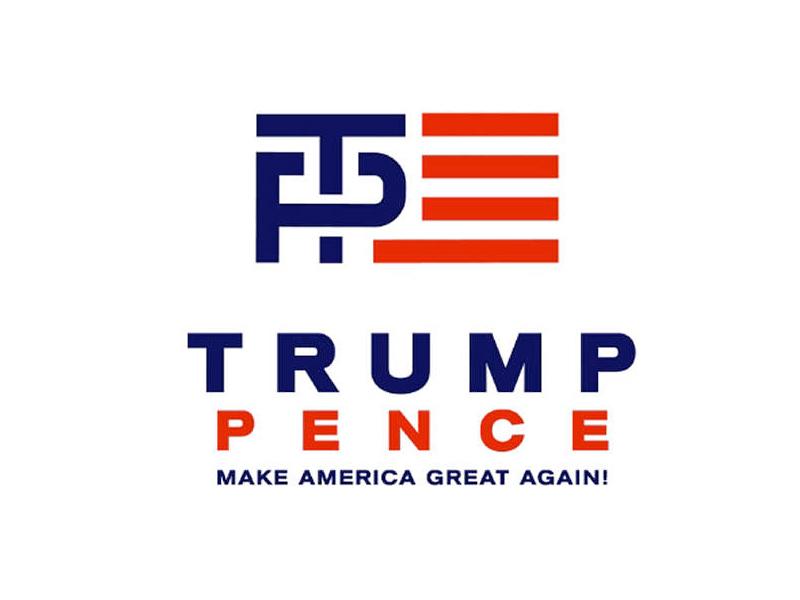 Trump-Pence logo
