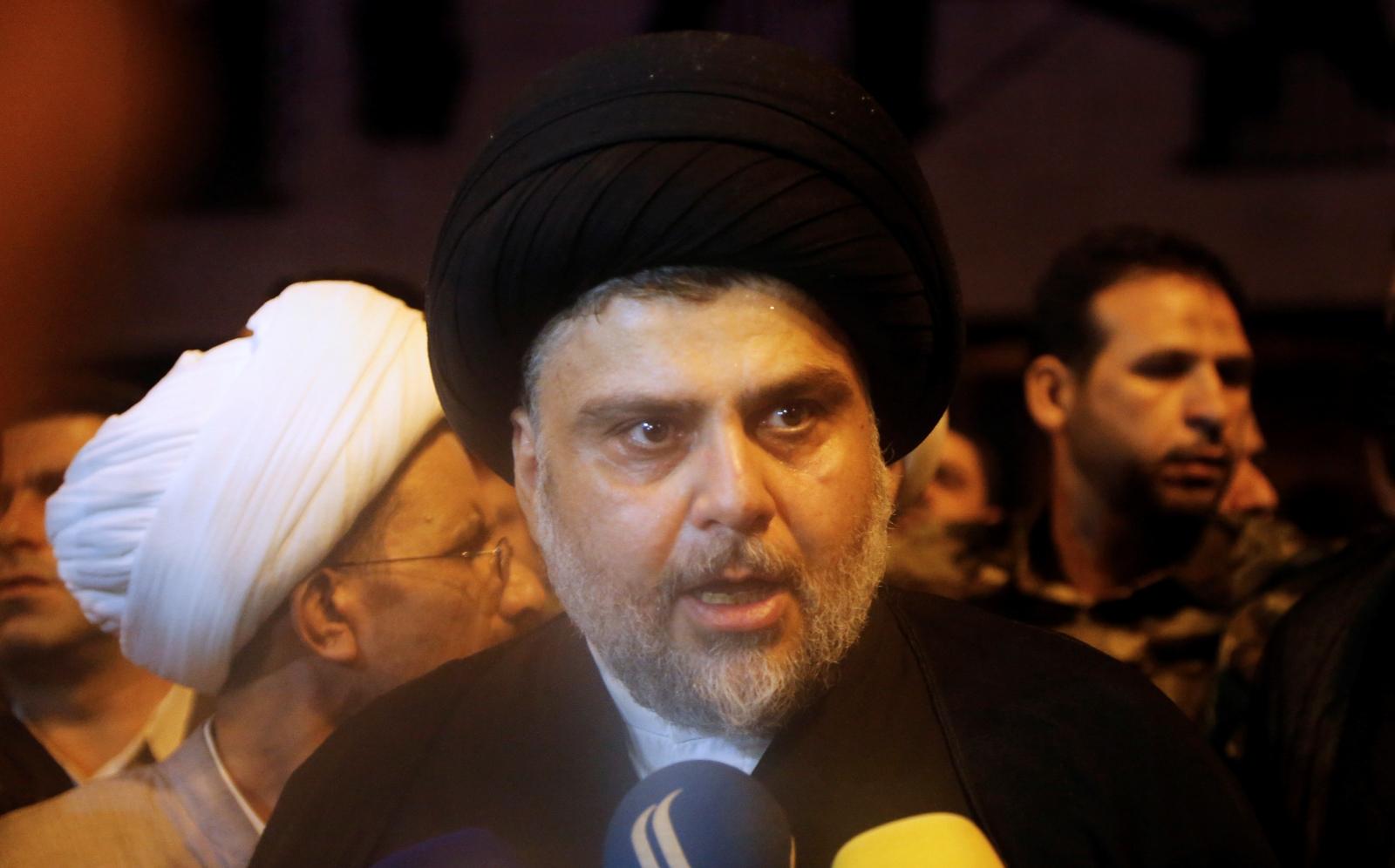Iraqi Shi'ite cleric Muqtada al-Sadr