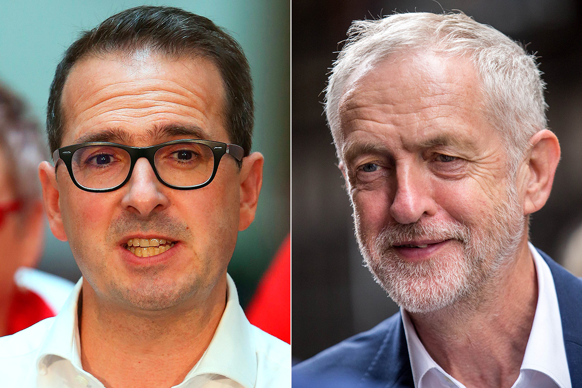 Owen Smith, Jeremy Corbyn