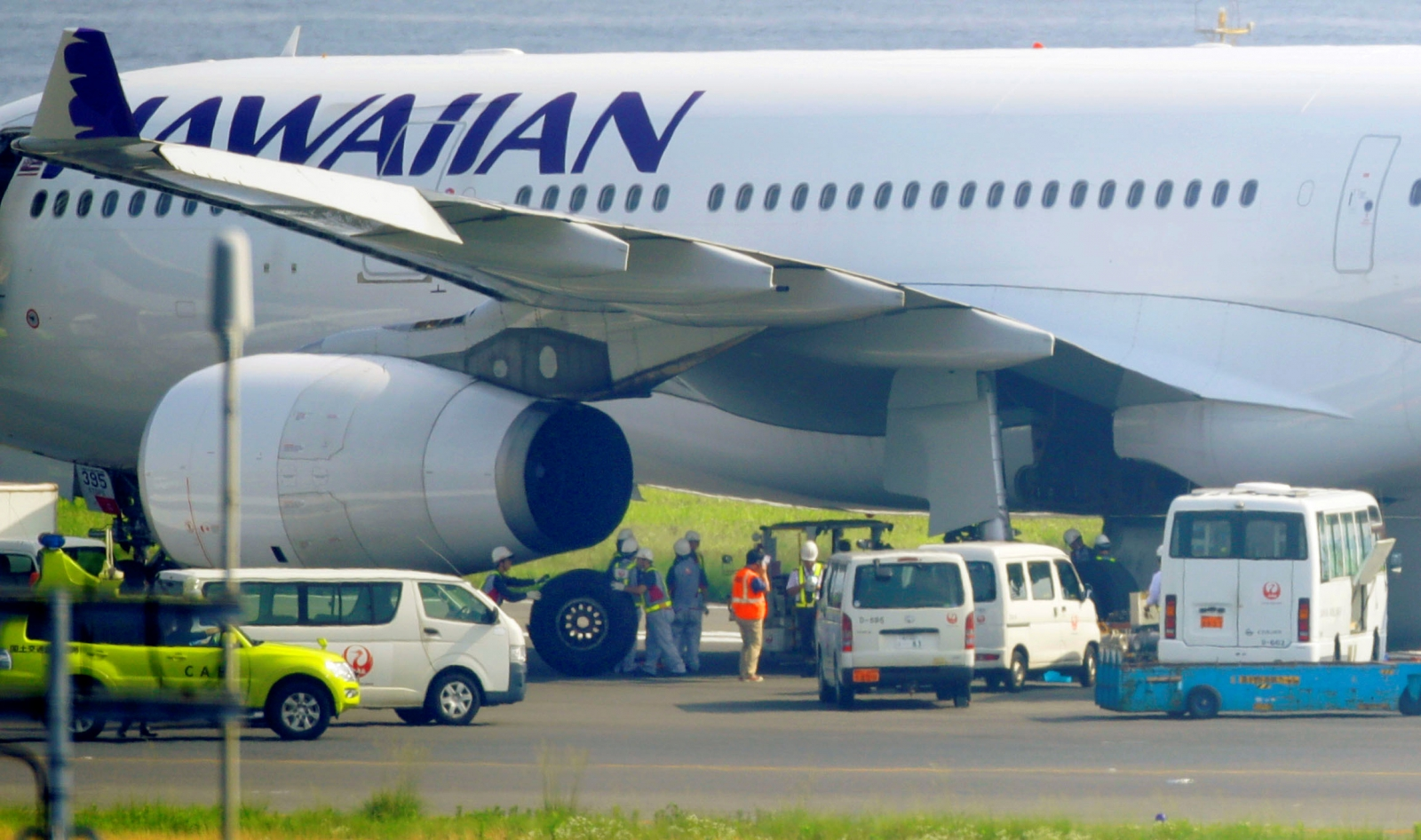 Hawaiian airlines emergency landing