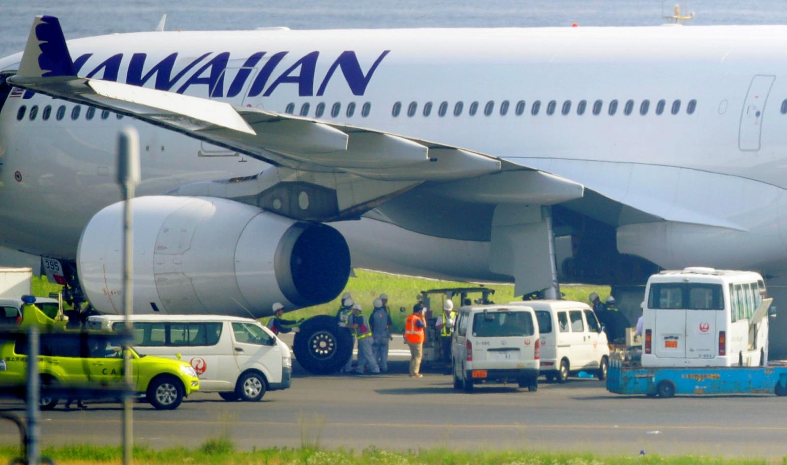 Hawaiian airlines emergency landing