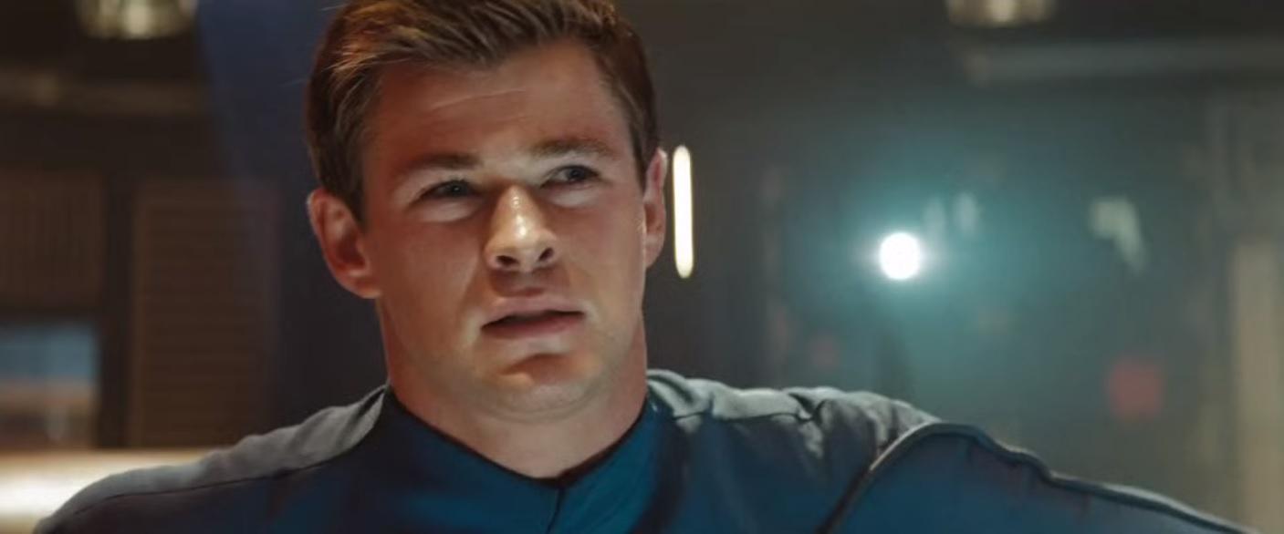 Chris Hemsworth in Star Trek