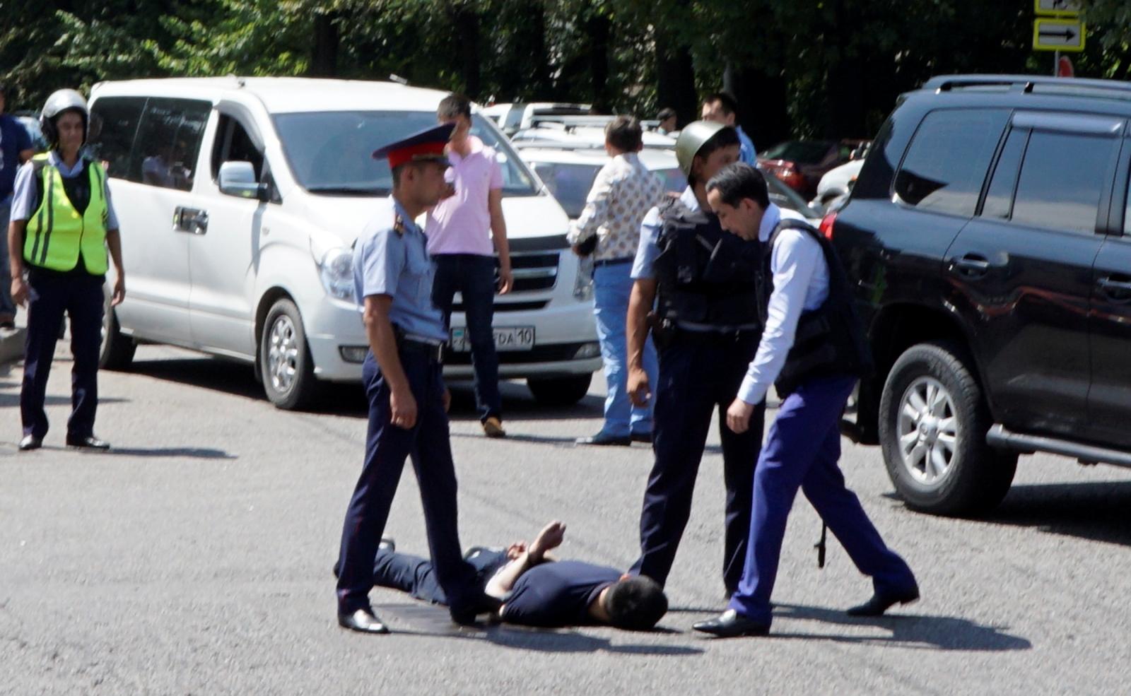 Almaty attack