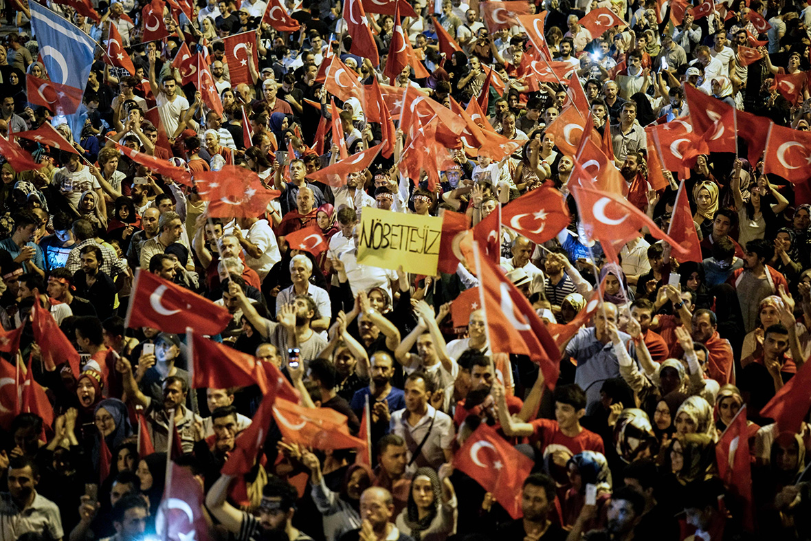 Tensions with West rise as Turkey continues purge