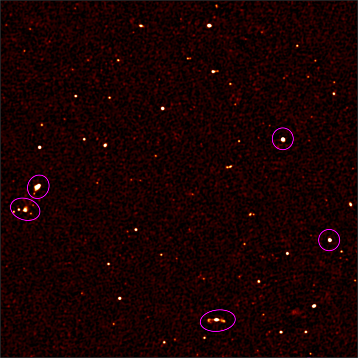 1,300 new galaxies uncovered by one of the world's most powerful radio telescope