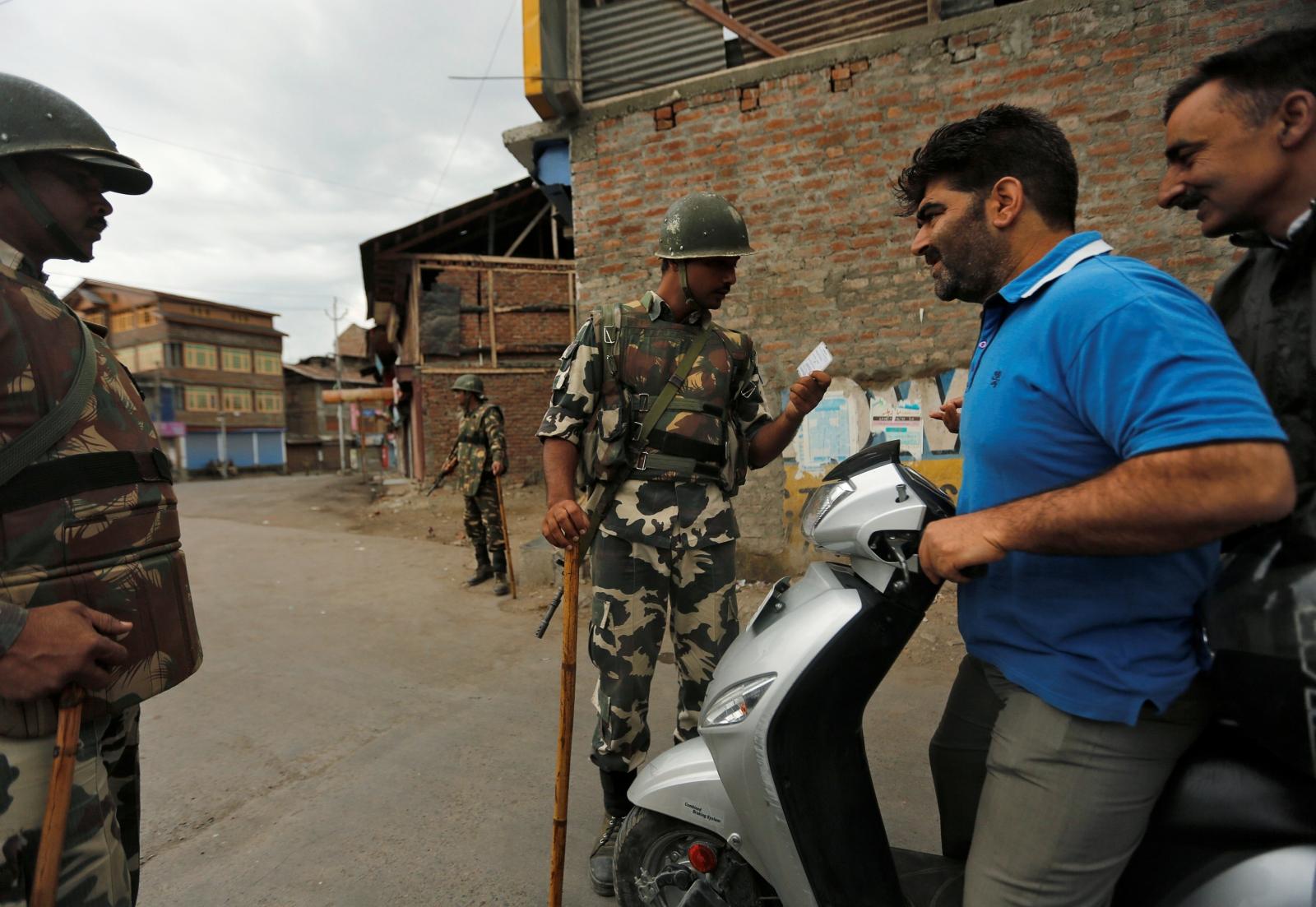 India Kashmir unrest