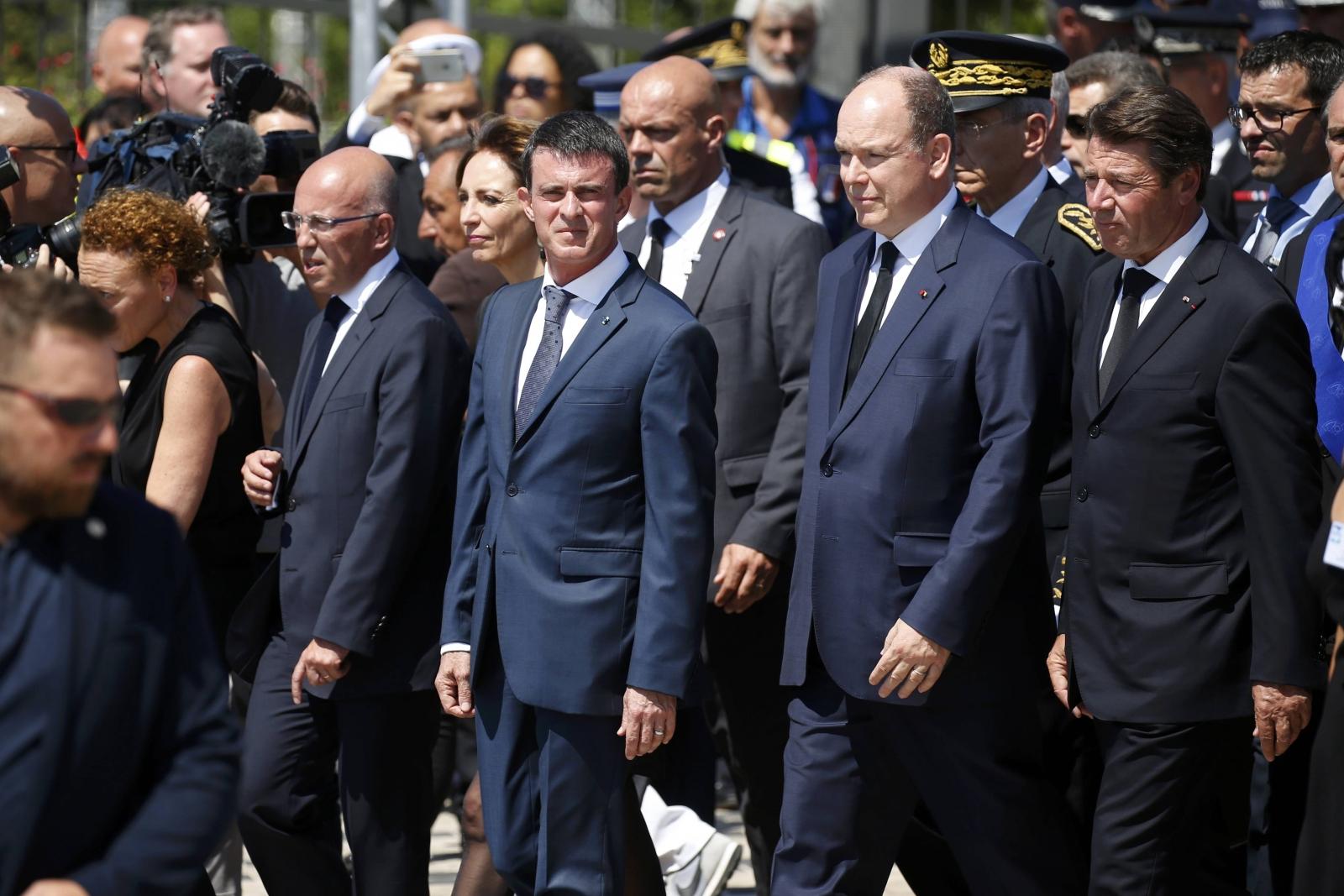 French Prime Minister Valls