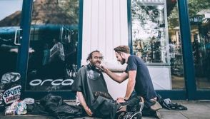 haircuts for homeless people