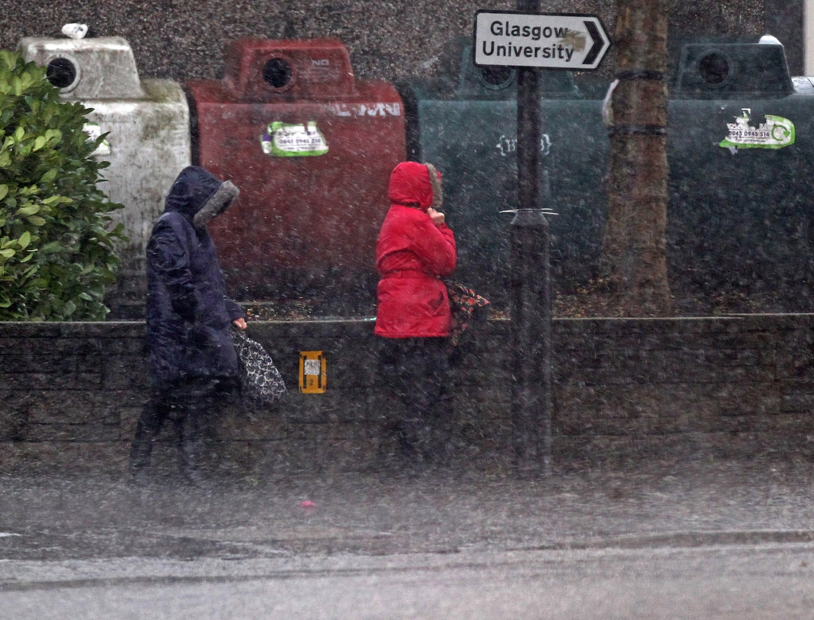 Scotland rain