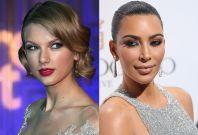 Taylor Swift Kim Kardashian