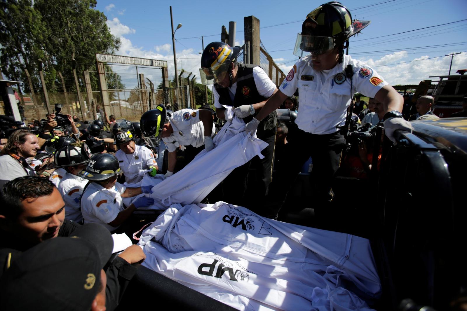 Gutemala prison riot