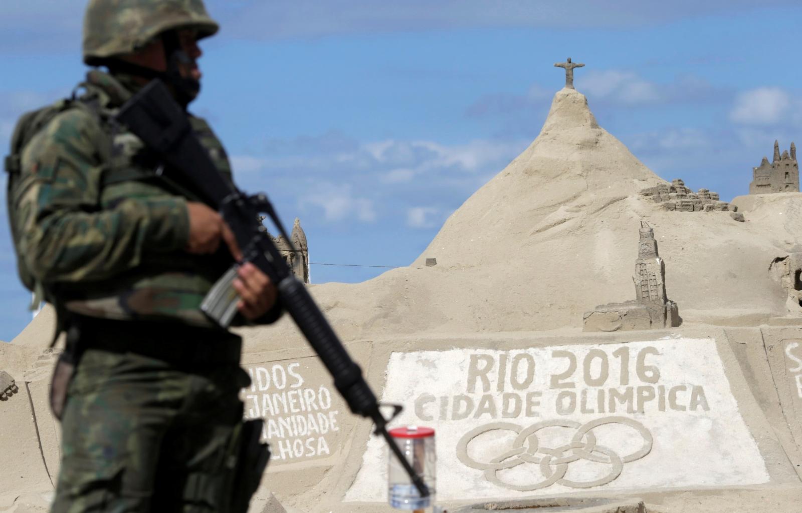 Rio de Janeiro Olympics Isis threat