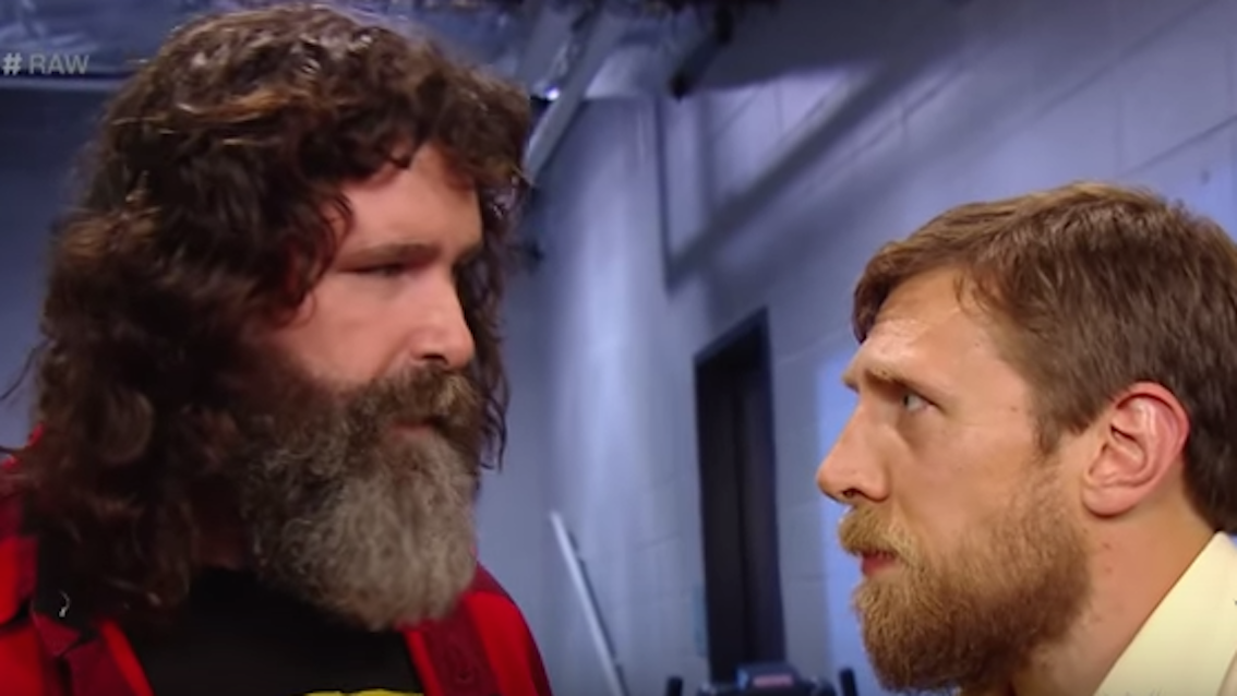 Mick Foley and Daniel Bryan