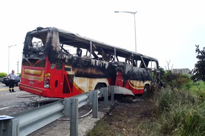 Taiwan bus crash
