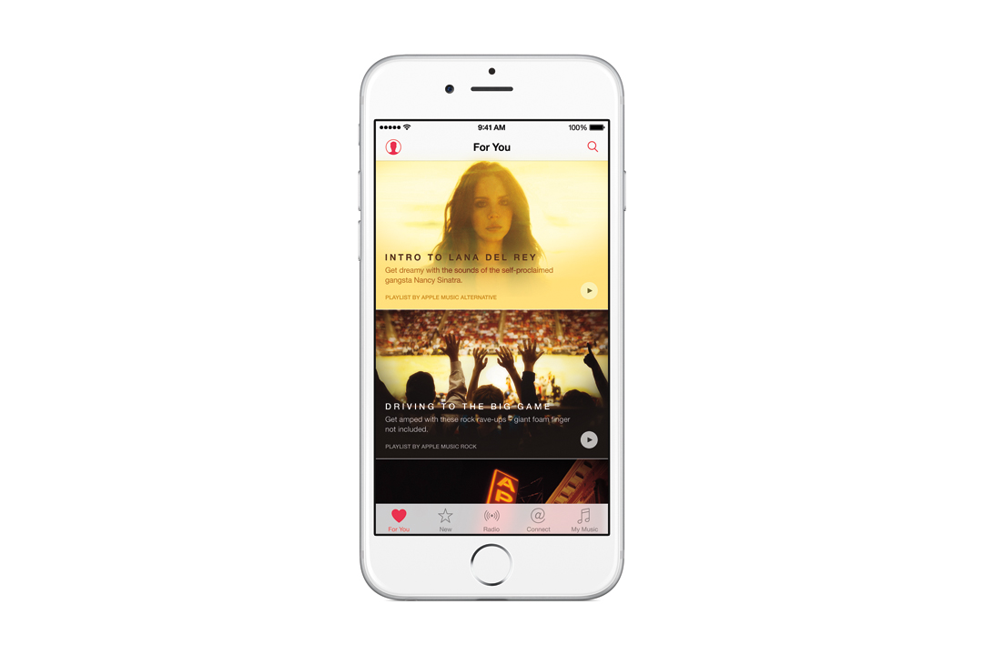 Apple Music on iPhone