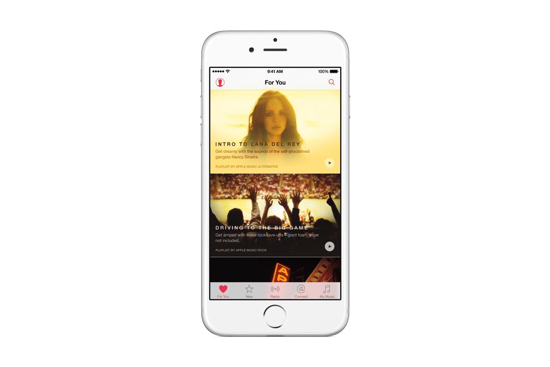 Apple Music on iPhone
