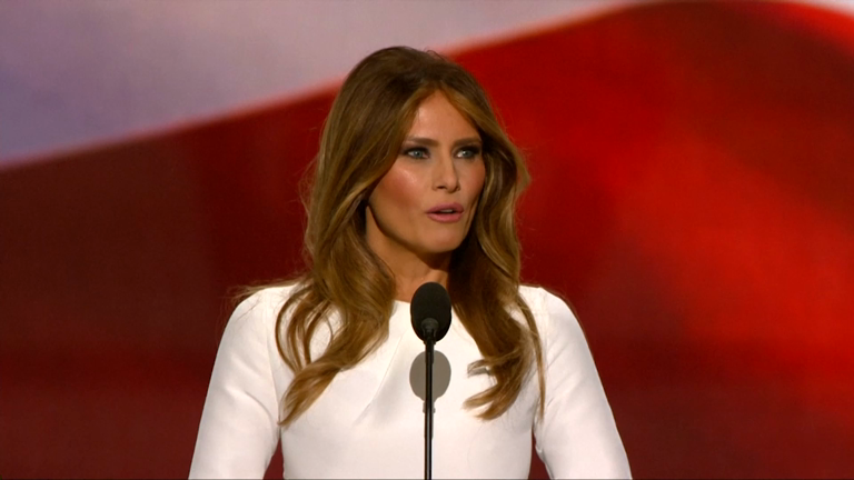 Republican convention: Melania Trump accused of plagiarising Michelle Obama's 2008 speech