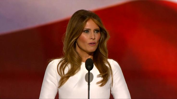 Republican convention: Melania Trump accused of plagiarising Michelle Obama's 2008 speech