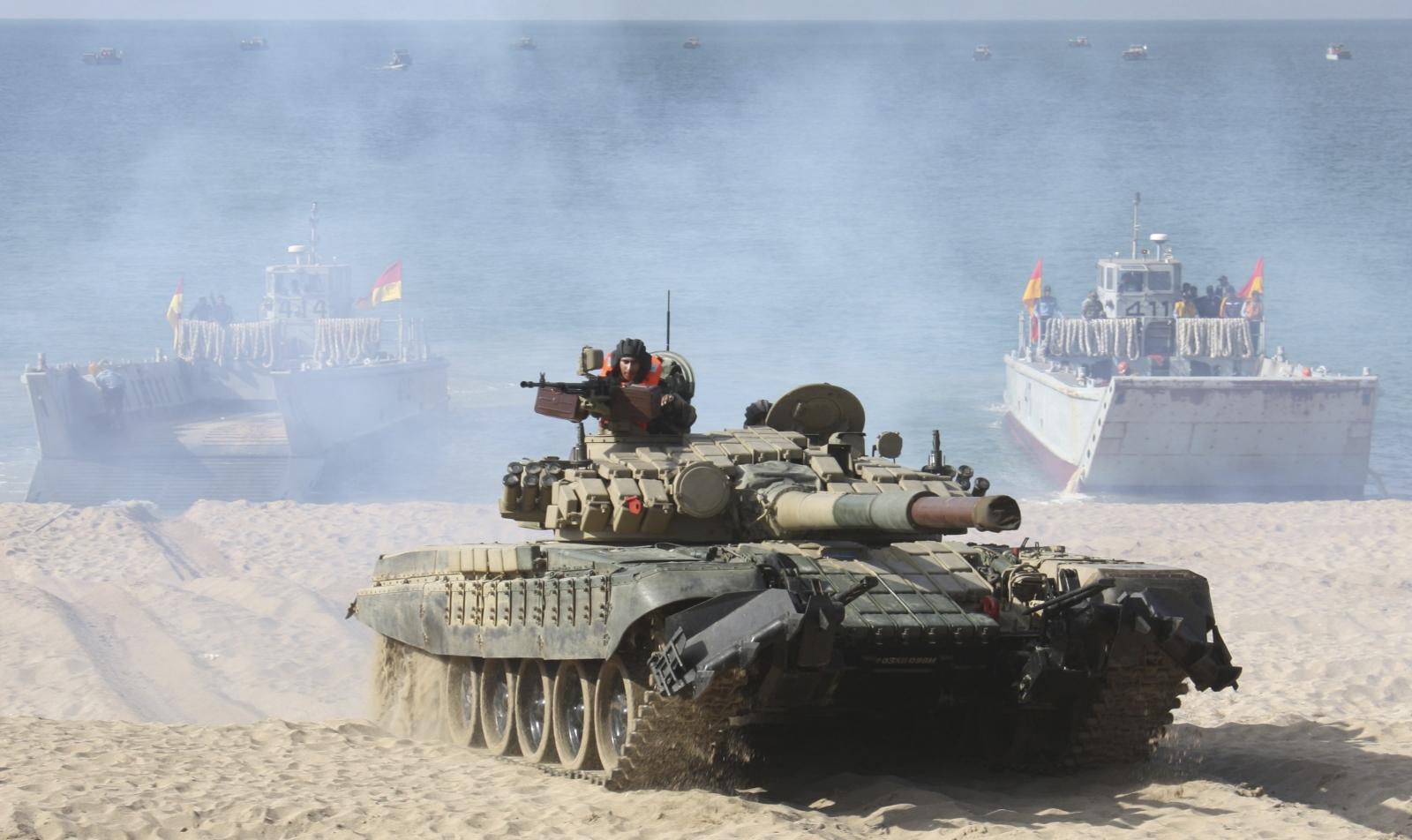 India tanks deployment