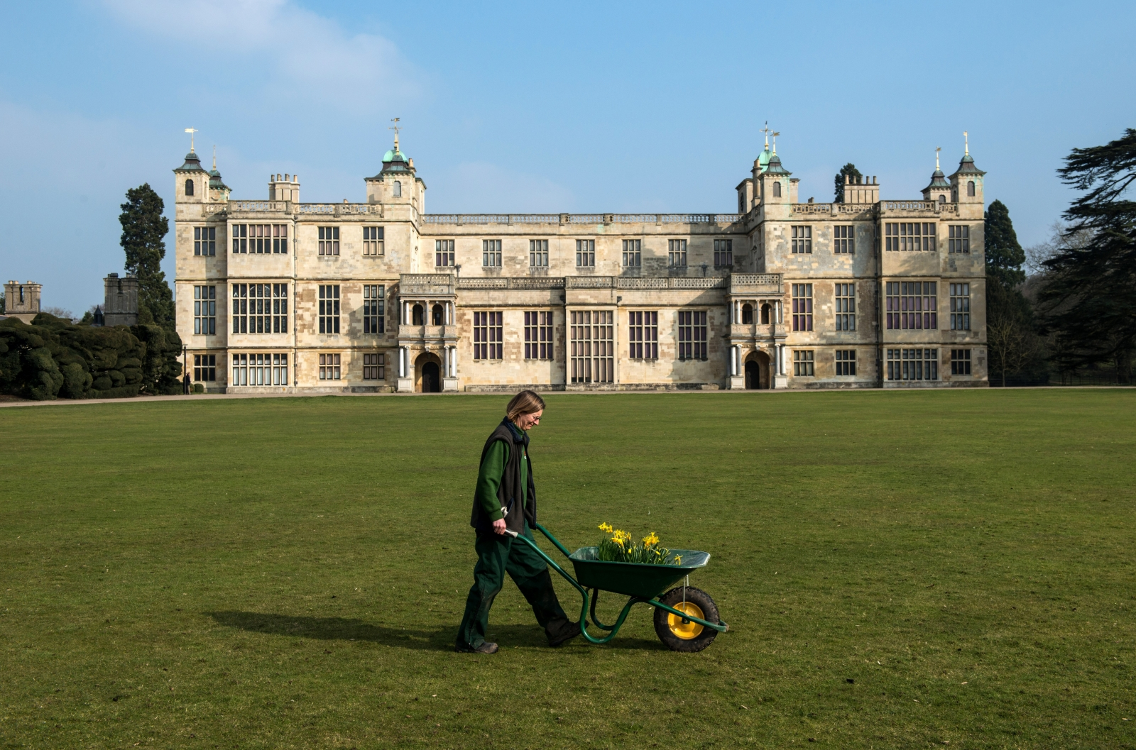 Audley End House English heritage mansion