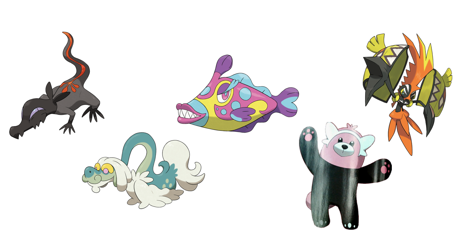 Pokemon Sun and Moon: Every monster announced so far for ...