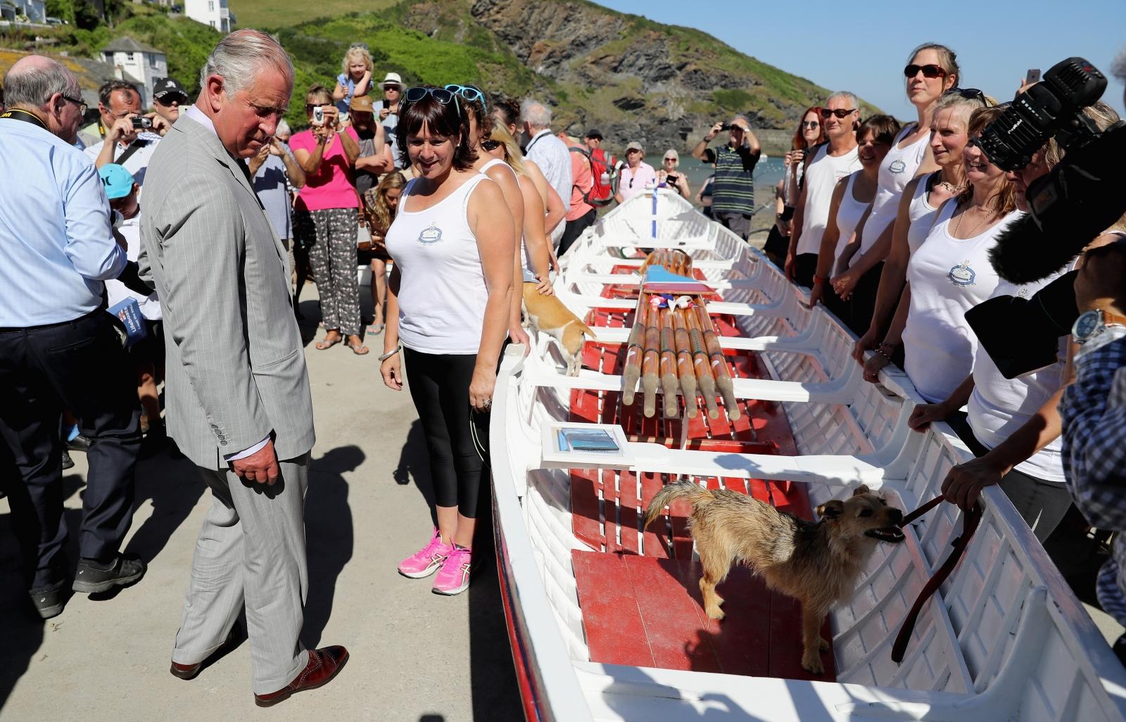 Duke and Duchess of Cornwall in Cornwall