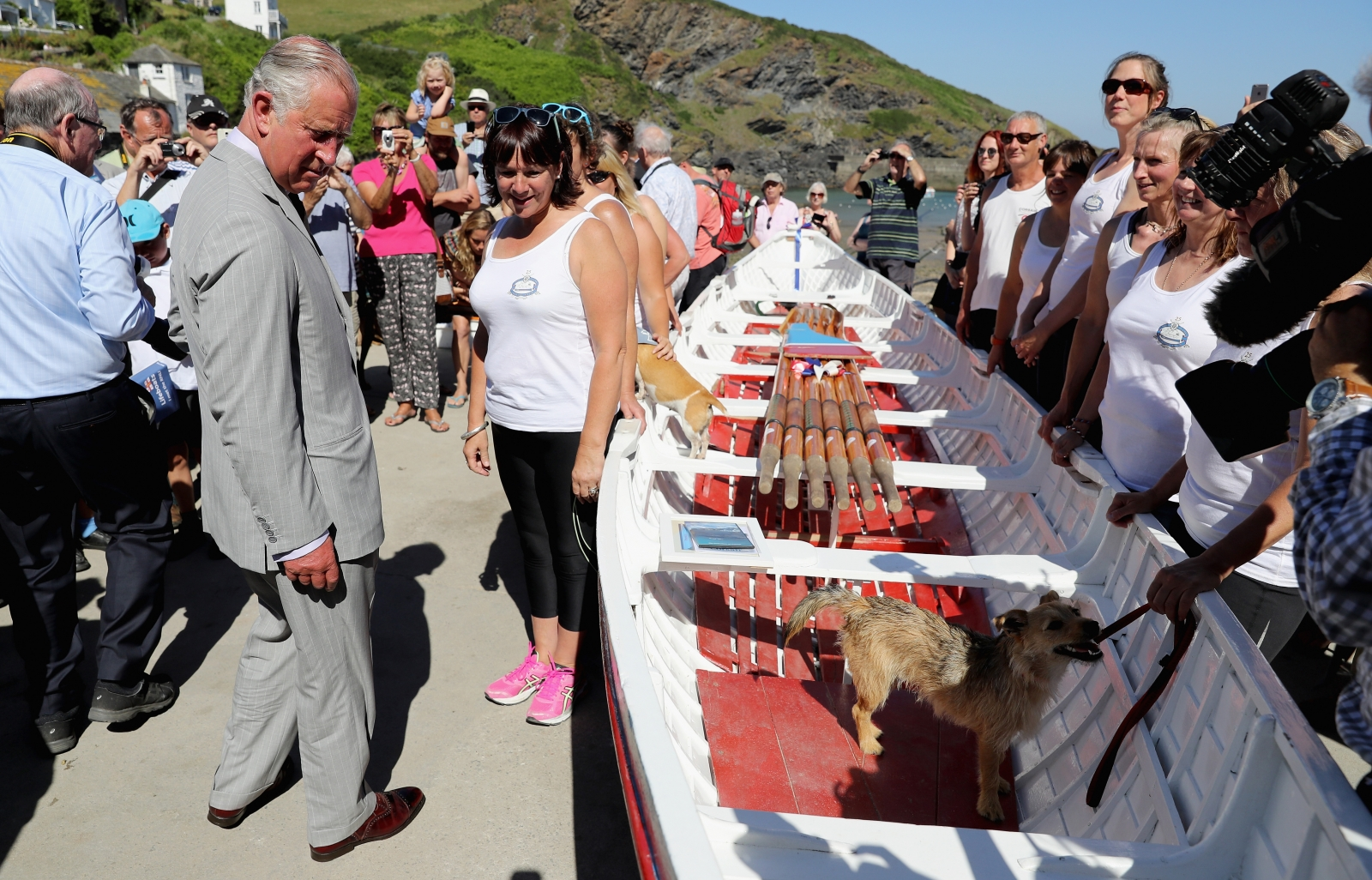 Duke and Duchess of Cornwall in Cornwall