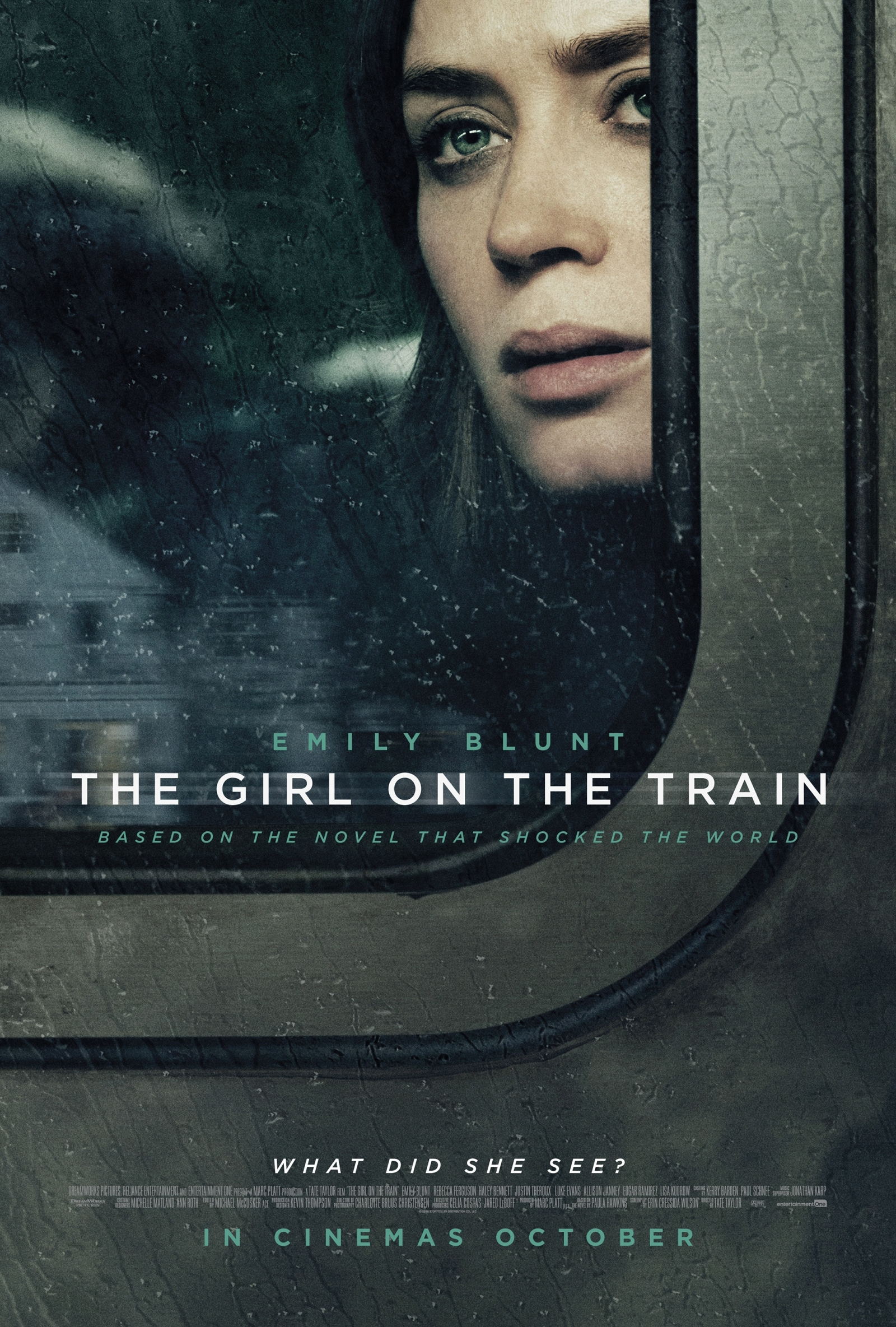 Résultats de recherche d'images pour « the girl on the train poster »