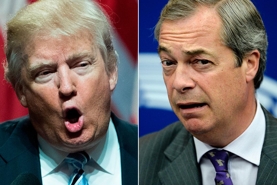 Trump Farage