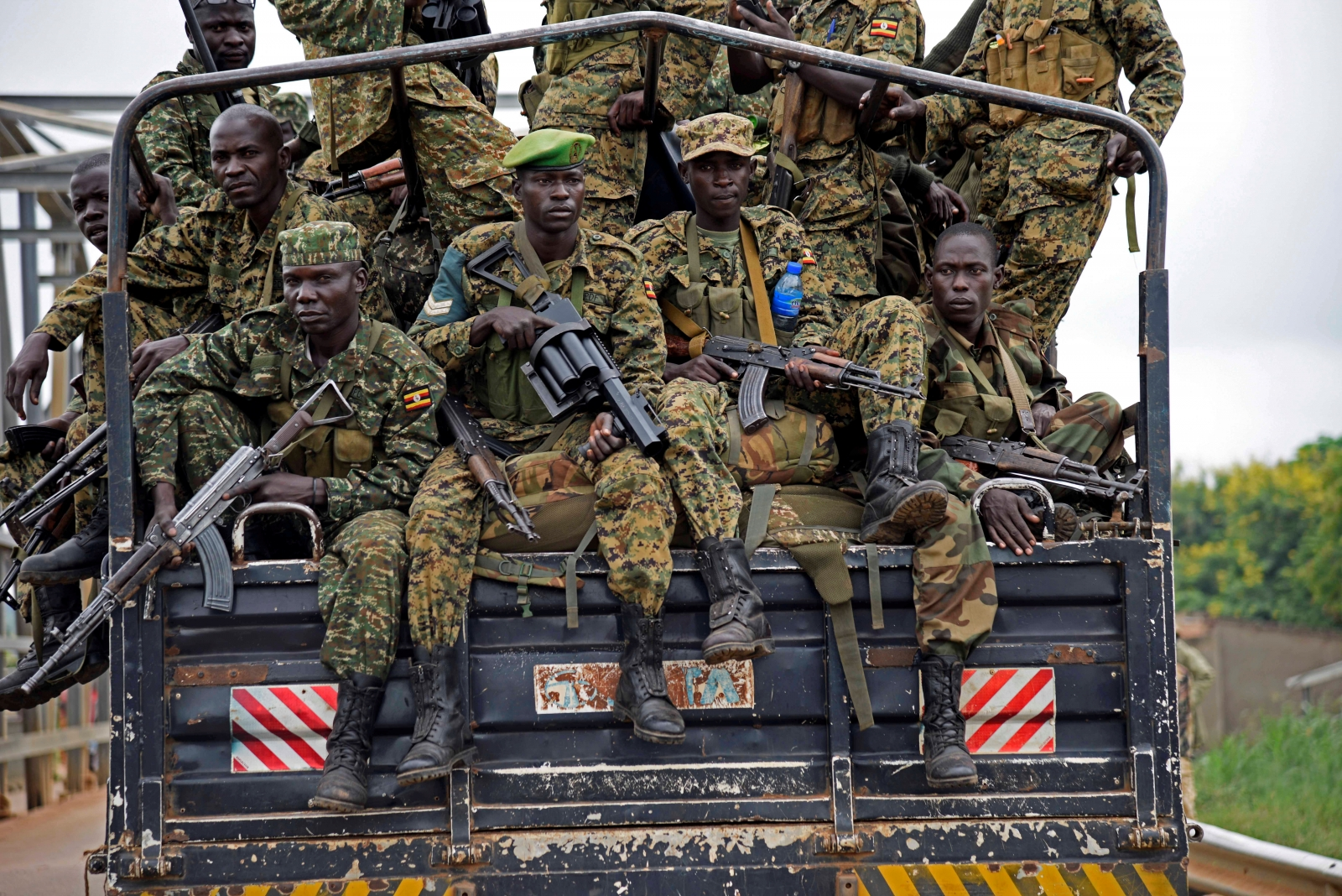 Uganda People's Defence Forces (UPDF)