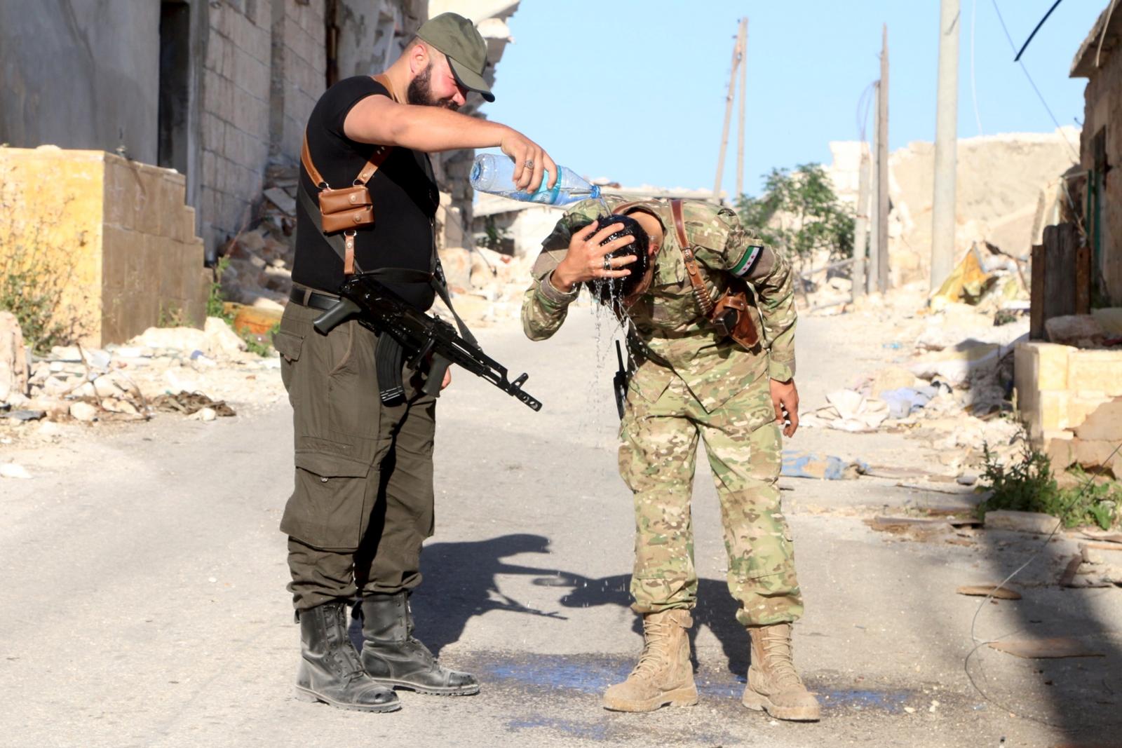 Handarat rebels Syria conflict 2016