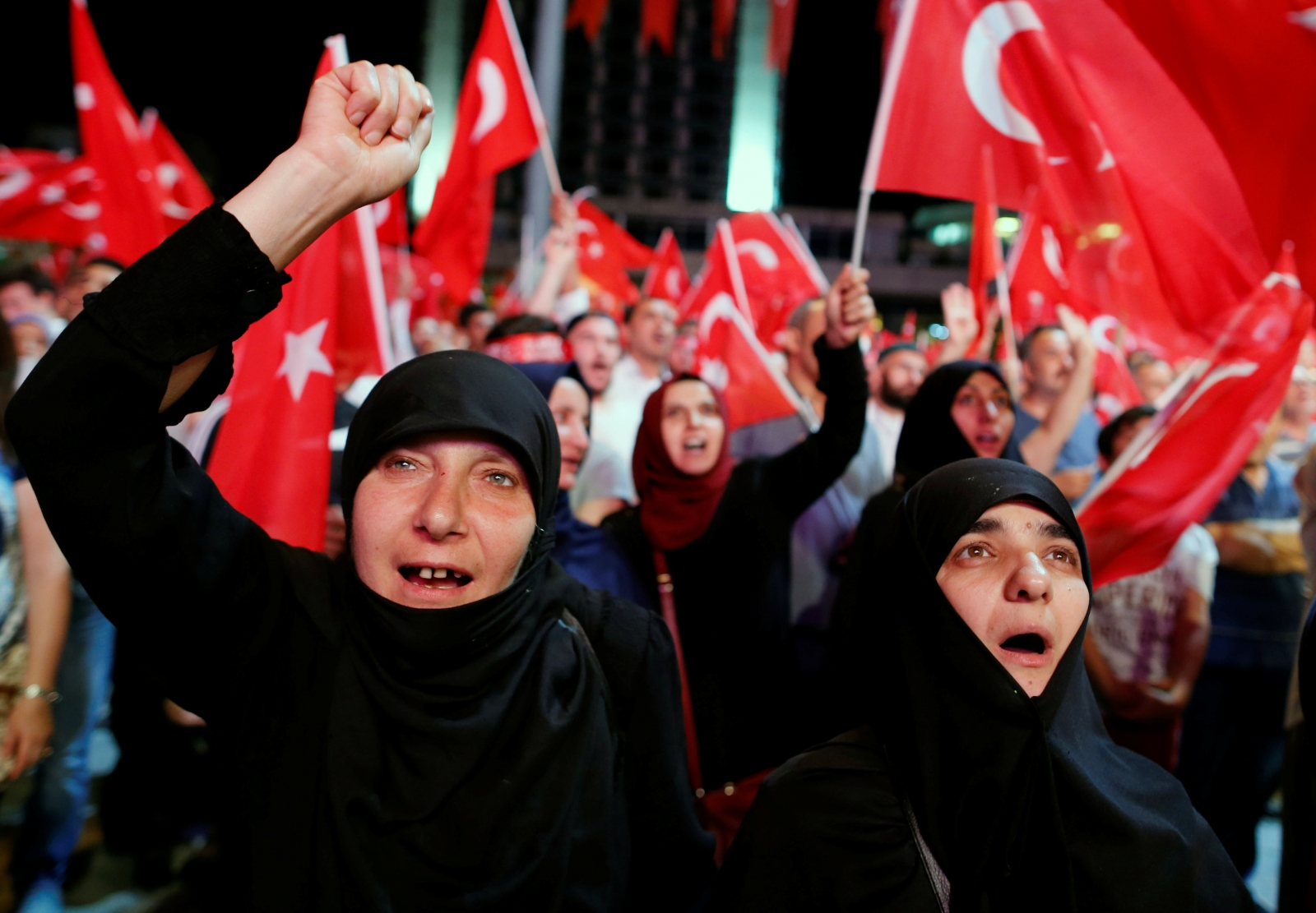 turkey coup 2016 erdogan supporters