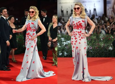 Venice Film Festival 2011 Leading Ladies Flaunt their Red Carpet Gowns