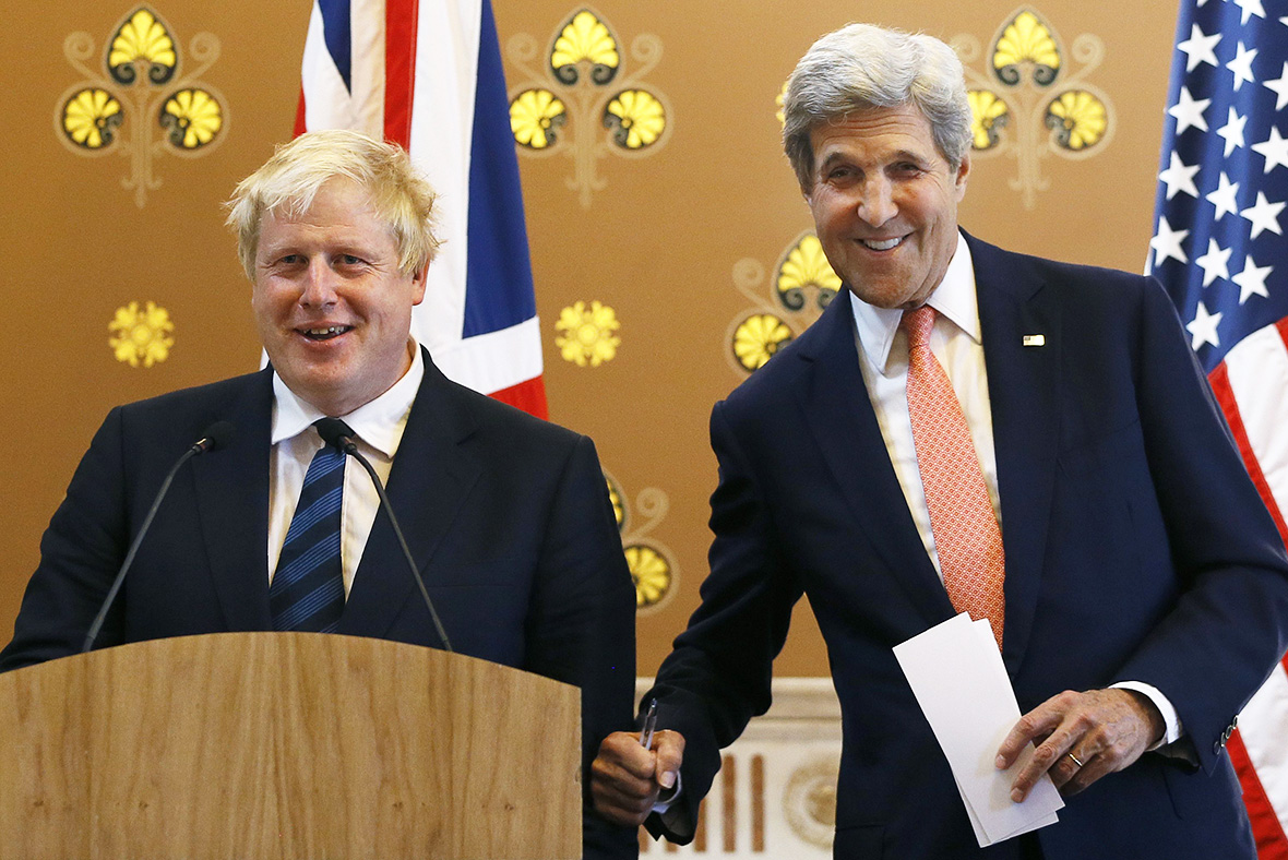 Johnson Kerry
