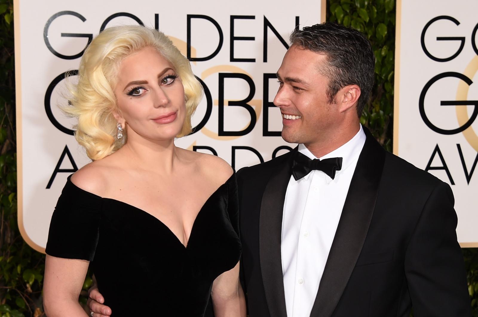Lady Gaga and Taylor Kinney